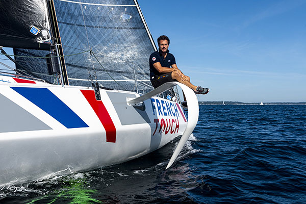 Eric Peron, skipper FB3 French Touch